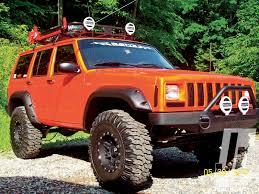 orange jeep cherokee drewhammer u0027s ascender rccrawler