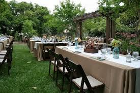 backyard wedding cost outdoor goods