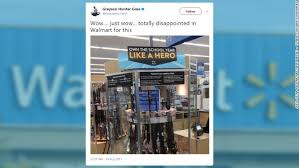 Gun Cabinets For Sale Walmart by Walmart Says It Has Gotten To The Bottom Of Gun Sign Aug 9 2017