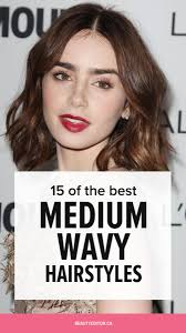 curly layered ear length hair styles 15 of the best hairstyles for medium length wavy hair beautyeditor