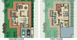 victory heights floor plans dubai sports city horizon type