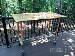 Outdoor Table Legs 51 Diy Table Ideas Built With Pipe Simplified Building