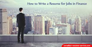 How To Do A Resume For Job by How To Write A Resume For Jobs In Finance To Get Interviews
