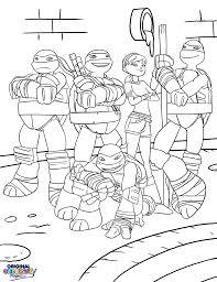 ninja turtles u2013 coloring pages u2013 original coloring pages