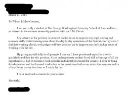 cover letter for article law student cover letters