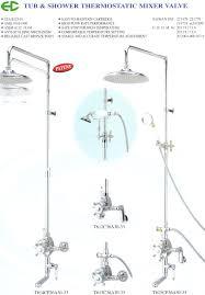 shower tub plumbing mobroi com 55 tub shower valve shower faucet parts diagram moen bathroom