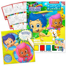 bubble guppies colouring activity book 2 bubble guppies