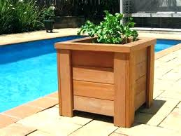 planter box designs large planter box large wood planter box