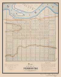 Brookfield Place Map Perrysburg Plat Map Northing U0026 Easting