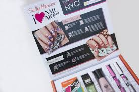 giveaway sally hansen nail party in a box