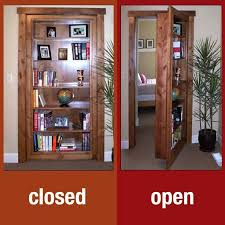 door bookcase hidden u0026 click image for larger version name 11