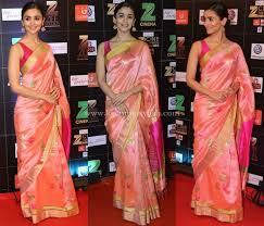 Drape A Sari Sarees With Sleeveless Blouse How To Wear It Like A Celeb U2022 Keep