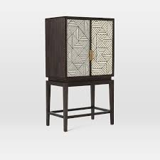west elm bar cabinet bone inlaid bar cabinet furniture decor dining area and living rooms