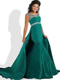 pageant dresses for ritzee tweens t810 beaded taffeta mermaid pageant dress
