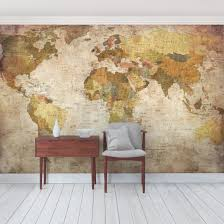 removable wallpaper peel stick temporary wallpaper product picture photo wall mural worldmap