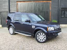 blue land rover discovery land rover discovery 4 xs sdv6 oliver cars ltd