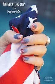 firework fingertips 4th of july nail art tutorial pretty prudent