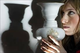 Vase Faces Illusion Rubin U0027s Vase With Hidden Royal Faces