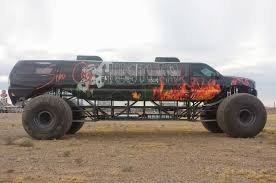 monster truck videos new video sin city hustler combines excursion limo monster