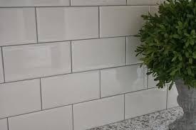 kitchen subway tile backsplash delorean gray grout with white subway tile grout colors