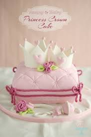 cake how to princess crown cake how to make a pillow cake