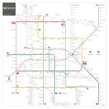 Map Mexico City by Mexico City Metro Map Inat Maps