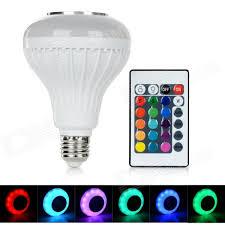 bluetooth music light bulb e27 6w bluetooth music rgb 300lm smd 2835 bulb 100 240v free