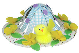 Easter Hat Decorations 89780 myo easter hat poundland