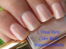 nailart and things l u0027oreal color riche macaron noisette french