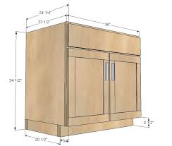 standard height of kitchen base cabinets cabinet space