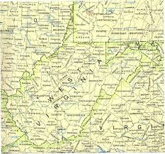 Floyd Va Map Proudfoot Genealogy Beginning With John Proudfoot Ii Scottish