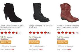 kmart womens boots 4 99 s boots at kmart hurry