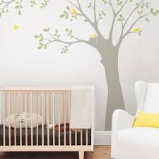 Tree Wall Decals For Nursery Ceiling Tree With Birds And Nest Wall Decal