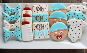baby shower cookies oh boy baby shower cookies eat think be merry