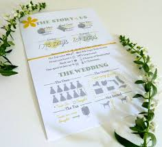Making Wedding Programs Wedding Guest Favors The Mace Place