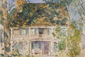 Artist House by The Brush House Childe Hassam 17 31 1 Work Of Art