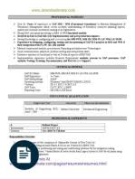 Sap Sd Support Consultant Resume Sap Mm Wm Resume 100 Sample Sap Resume Sap Security Grc Resume