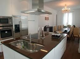 cuisine ouverte ilot central cuisiniste caen ilot central cuisine ouverte 2 cuisiniste sur caen à