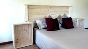 bed combo framed headboard crate bedside tables creator