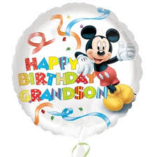 birthday balloons in a box mickey mouse happy birthday grandson balloon in a box gift