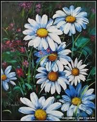 daisy fowlers 009 daisy flower oil paintings vivid gallery com