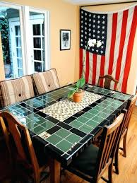 ceramic tile top patio table tile top table and chairs design your own kitchen table ceramic tile