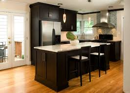 kitchen paneling high contrast white wall kitchen with dark wood paneling and