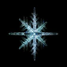 glow in the snowflake