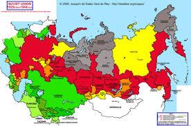 map of ussr hisatlas map of soviet union 1929 1944
