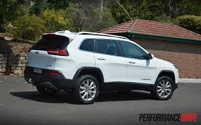 2016 jeep cherokee sport white 2015 jeep cherokee limited diesel review video performancedrive