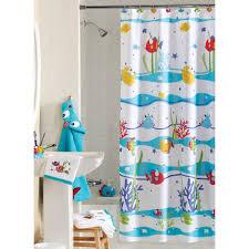Bath And Shower Sets Fish Shower Curtains Bath Accessory Sets Curtains Decoration