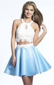 8th grade dresses for graduation 2016 8th grade graduation dresses lace light sky blue two