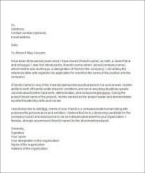 bunch ideas of letter of recommendation template for student from