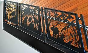 custom railing balusters stair railing deck railing